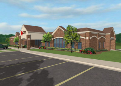 American Red Cross Rendering